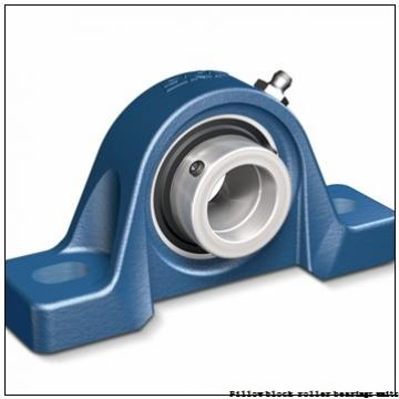 2.188 Inch | 55.575 Millimeter x 2.938 Inch | 74.625 Millimeter x 2.5 Inch | 63.5 Millimeter  Dodge P4B-S2-203RE Pillow Block Roller Bearing Units