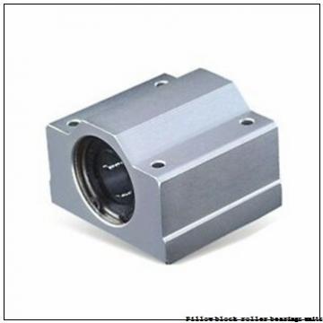 1.938 Inch | 49.225 Millimeter x 2.875 Inch | 73.02 Millimeter x 2.25 Inch | 57.15 Millimeter  Sealmaster USRB5000E-115 Pillow Block Roller Bearing Units
