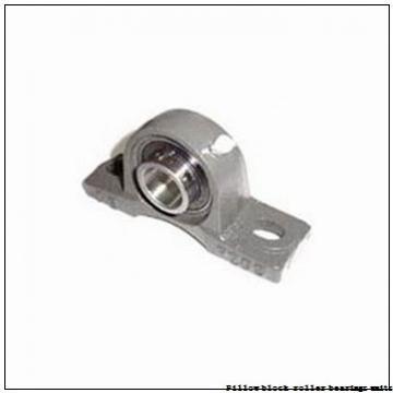 2.438 Inch | 61.925 Millimeter x 3.375 Inch | 85.725 Millimeter x 2.75 Inch | 69.85 Millimeter  Sealmaster USRBE5000-207 Pillow Block Roller Bearing Units